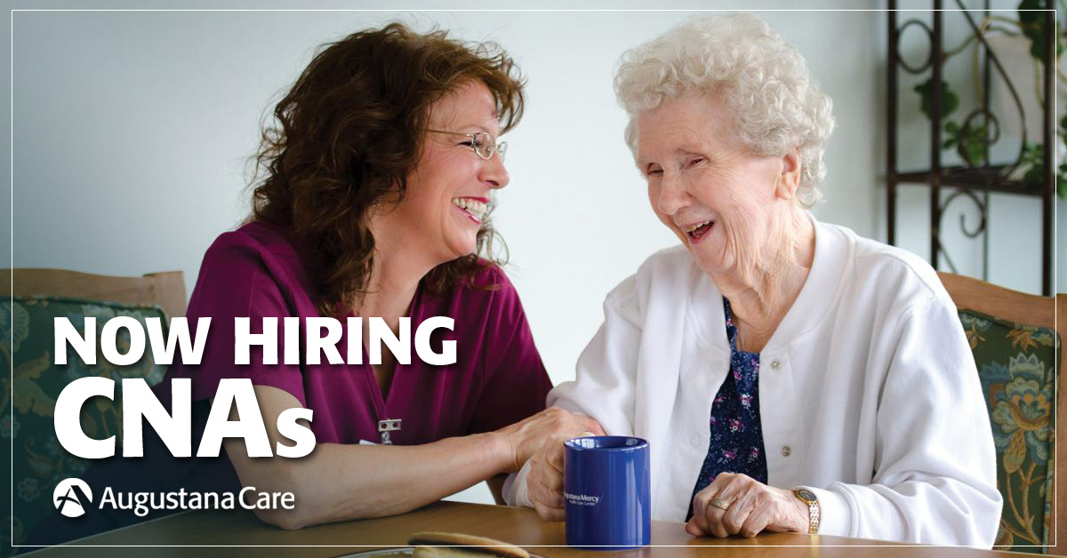 Free Training And Certification For Cna Nar Augustana Care