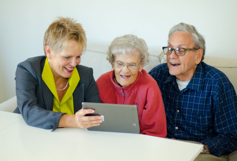 Augustana Care's new Learning Lab for Eldercare Technologies will help older adults become more comfortable with technology that can help them stay in their homes as their needs change